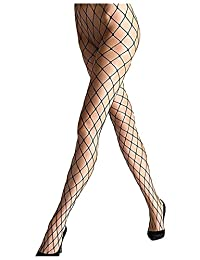Sexy Big Cross Fishnet Tights Seamless Nylon Large Mesh Stockings Hollow Out Pantyhose