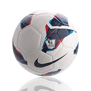 Amazon.com : Nike Strike Pl Soccer Ball White/Blue Size 3