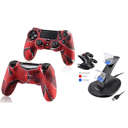 Silicon Analog Thumbstick Cap cover for Sony PS Vita 1000 2000 Red - 9