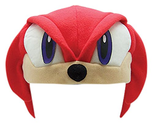 [Great Eastern Sonic the Hedgehog Series: Knuckles Fleece Cap] (Sonic Halloween Costumes 1)