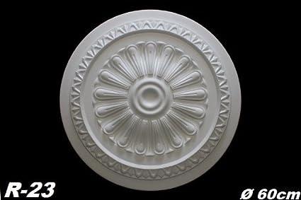 10 rosetas de pared techo y embellecedor de decoración y embellecedor de decoración de estuco de