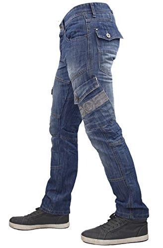 Nuovo Fly Jeans Sabbiati Marca Cargo Stone Da Di Crosshatch Regular Wash Bottoni Uomo Zqx8SnBU