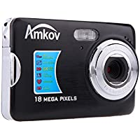 Andoer CDFE HD Digital Camera 18MP 2.7 TFT 8x Zoom Smile Capture Anti-shake Video Camcorder