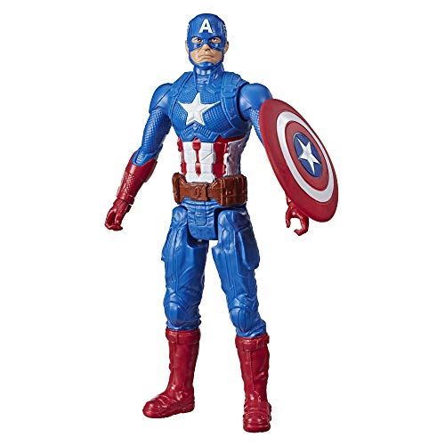 Avengers Marvel Titan Hero Series Blast Gear Captain America Action Figure