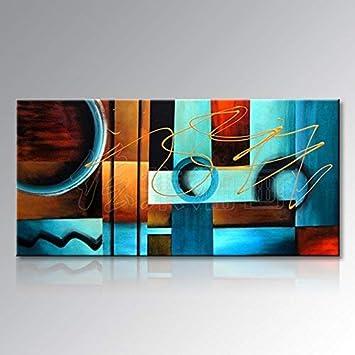 BH Inicio de una pura pinturas al óleo pintada a mano de pintura ...