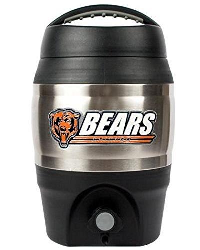 Chicago Bears Nfl Candy (NFL Chicago Bears 1 Gallon Tailgate Keg)