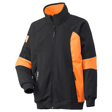 Helly Hansen Stoke Jacke W/O Hood, 79146-992-2XL, schwarz / orange, 79146