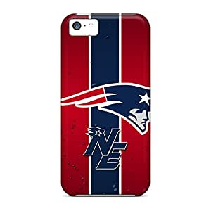 KaraPerron Iphone 5c Shock-Absorbing Hard Cell-phone Cases Support Personal Customs Lifelike New England Patriots Image [VjM8032qWbH]