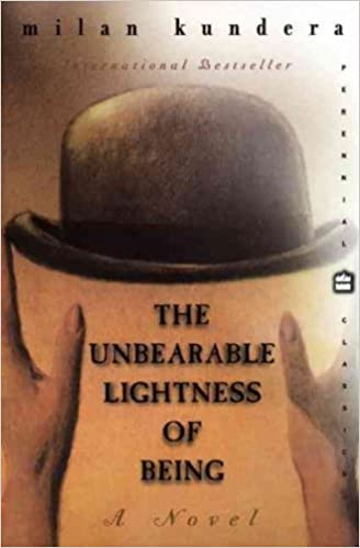 Image result for the unbearable lightness of being amazon
