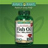 Nature's Bounty Maximum Strength Fish Oil 1,400 mg – 980 mg Omega-3 – 130 Enteric Coated Liquid Softgels, Health Care Stuffs