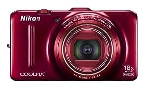 Nikon Coolpix S9300 16.0 MP Digital Camera - Red