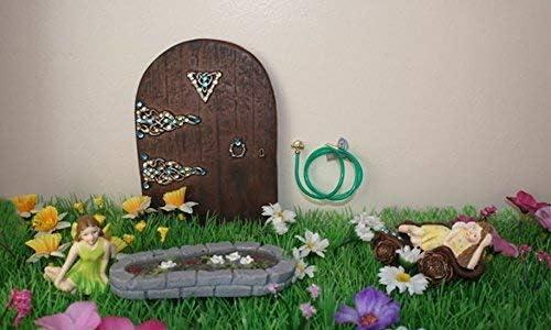 SA-Dolls House D1917 Miniatura Manguera de Jard/ín 1:12 para Casa de Mu/ñecas