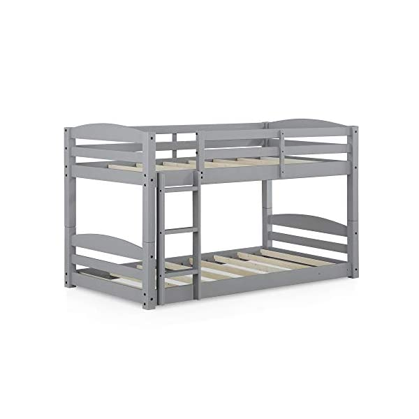 Max & Finn Twin Bunk Bed, Gray 4