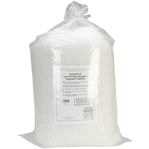 Air Lite 580/6 Eco-Friendly Recycled Polyester Fiberfill, White ()
