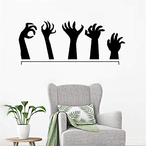 ohoord Stickers Vinyl Wall Art Decals Letters Quotes Decoration Monster Hands Zombies Halloween ()