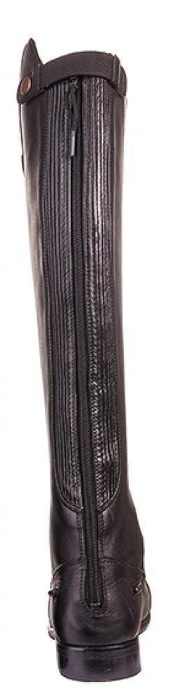 HKM Erwachsene Reitstiefel -Valencia- 39 9195 schwarz//Grau kurz//Standardweite9195 Hose