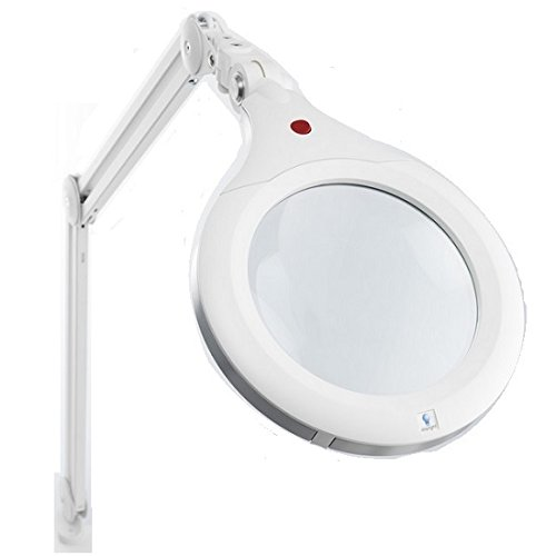 Daylight U22080 Ultra Slim Magnifying Lamp XR, White by Daylight Company LLC
