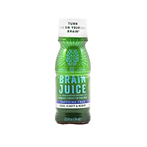 #1 Liquid Brain Supplement • Caffeine Free • Supports Healthy Brain Function • Nootropic Decaf Green Tea, Vitamin B12, Choline • Natural Ingredients • Feel Focus Now GUARANTEED (12 Pack)