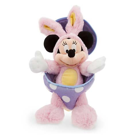 Disney Easter Bunny Rabbit in Egg Minnie Mouse NEW