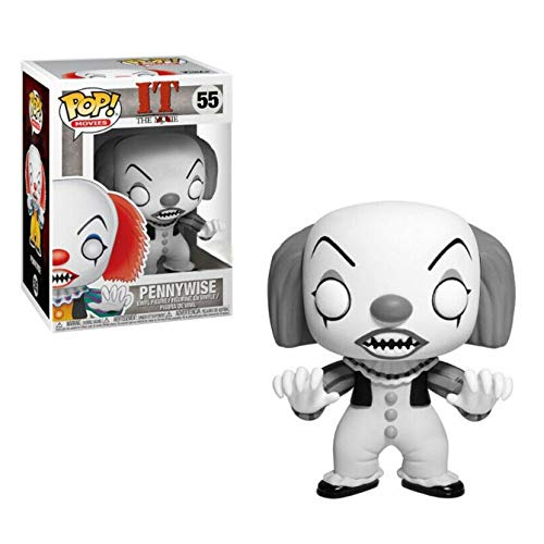 Funko - It Classic-Pennywise Exclusive (Black & White) - Figura Decorativa, Multicolor, 35