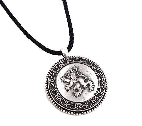 Connemara Irish Mullingar Pewter Round Pendant Necklace