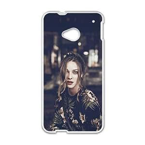 Sexy beautiful woman lovely phone case for HTC One M7 wangjiang maoyi