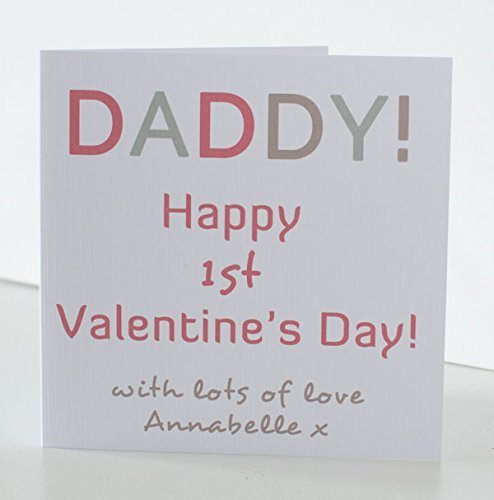 Valentine card for daddy 1st valentines card daddy valentines day valentine card for daddy 1st valentines card daddy valentines day card from the baby m4hsunfo