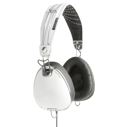 Price comparison product image Skullcandy Roc Nation Aviator White Headphones w/Microphone