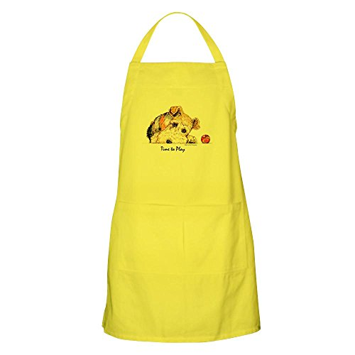 CafePress Wire Fox Terrier BBQ Apron Kitchen Apron with Pockets, Grilling Apron, Baking Apron