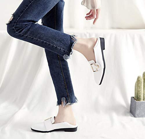 Taille Automne Plat Chaussures Britannique Pour Femmes Style Abricot Mocassins Paresseux tudiant Talons Grande EwgPxSFqC