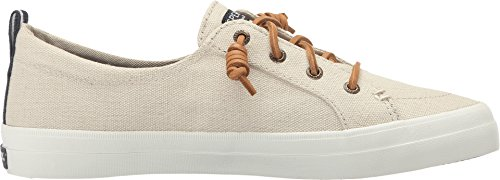 Pictures of Sperry Top-Sider Women's CREST VIBE LINEN Shoe, oat, 9 M US 2