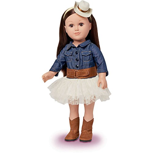 "My Life As 18"" Cowgirl Doll, Brunette"