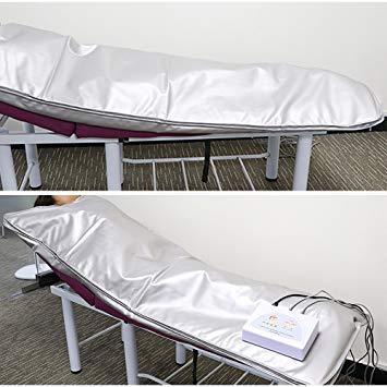 HUKOER Espace Couverture Far Infrared Ray froid au gaz formes du corps de ventilation perte de poids professionnel sauna minceur Couverture d/étox anti-/âge Beaut/é machine