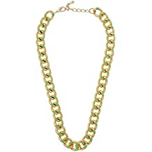 Trendy Fashion Jewelry Color Accent Link Chain Necklace Strand By Fashion Destination
