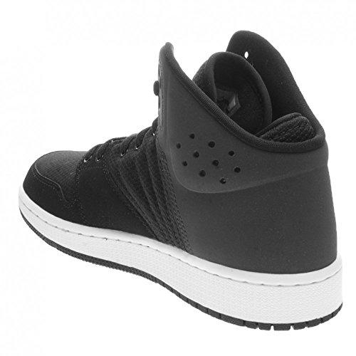 Nike 828237-022, Zapatillas de Baloncesto Para Niños Negro (Black / White Anthracite White)