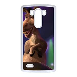 LG G3 Cell Phone Case White Donkey 013 WH9468160