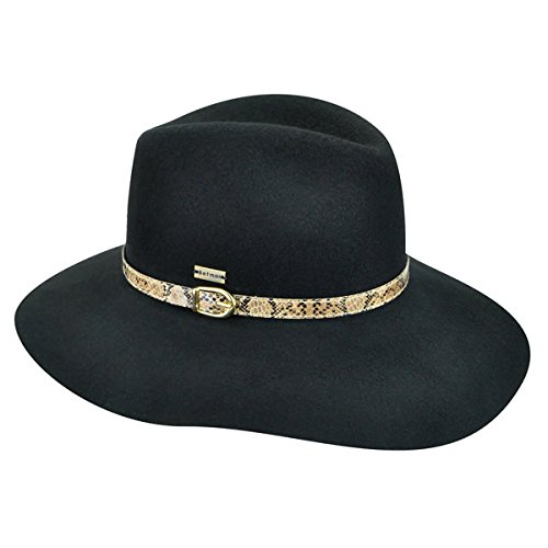 betmar-new-york-tessa-fedora-black-small-medium