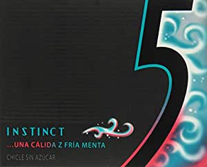 Five - Instinct - Chicle sin azúcar - 10 chicles