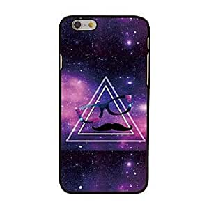 JOE Triangle Man in Space Style Plastic Hard Back Cover for iPhone 6