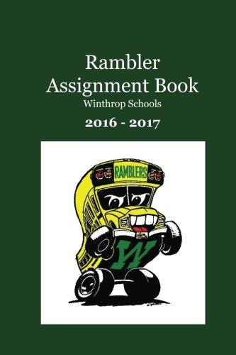 Rambler Assignment Book: Winthrop Schools ebook