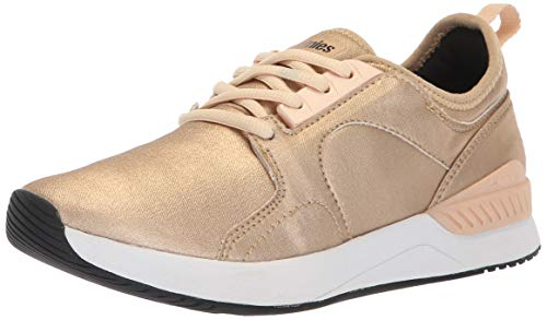 Etnies Women's Cyprus SC W's Skate Shoe, Gold, 8.5 Medium US ()