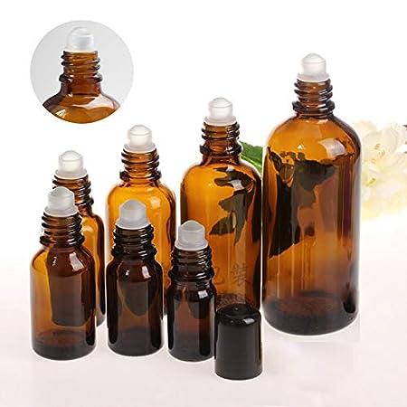 cd4a82e3da99 Amazon.com: Culturemart 1pcs Amber Roll On Bottles for Essential ...