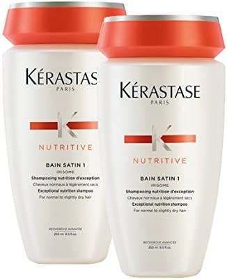 Kerastase Nutritive Duo Pack: Bain Satin 1 Shampoo For Normal to ...