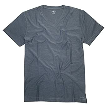 Calvin Klein Jeans Men's V-neck T-shirt Bayou Blue Medium