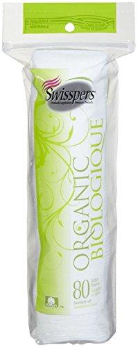 Organic Essentials Organic Cotton Rounds (Swisspers Organic Cotton Rounds 80 Each)