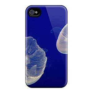 Iphone 4/4s Case Cover Jelly Fish Case - Eco-friendly Packaging