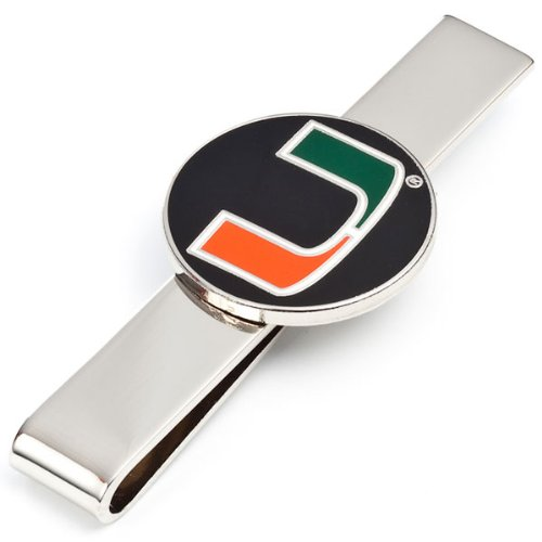 NCAA Miami Hurricanes Tie Bar