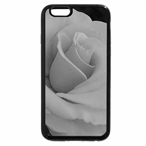 iPhone 6S Case, iPhone 6 Case (Black & White) - The Lovely Rose
