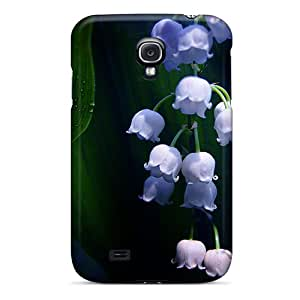 Hot Tpu Cover Case For Galaxy/ S4 Case Cover Skin - Lovely Buds