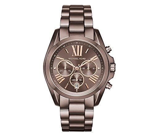Michael Kors Women's Oversized Bradshaw Sabletone IP Watch